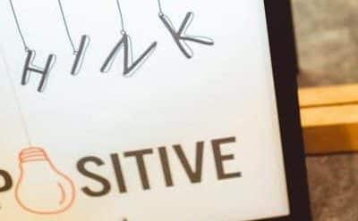 Avoir une attitude positive: 5 (super) solutions